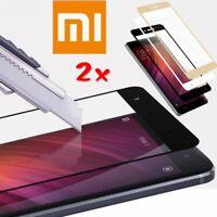 3D Full Cover 9H Tempered Glass Film For Xiaomi Redmi Note 4 4X & Mi A1/Mi 5X