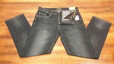 New With Tags Rue 21 Carbon Slim Straight Low Rise Denim Blue Jeans Size 30 x 32