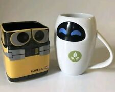 Lot Mug Disney WALL-E & EVE 3D, Disneyland Paris Original SOLD OUT