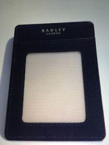 Radley Travel Card Holder, Dark Blue