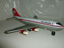 AIRPLANE BOEING 747 AIR CANADA CF-TOA PASSENGER BATTERY TIN HA JI JAPAN BROKEN