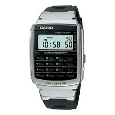 Casio 8-Digit Calculator Watch, Resin Strap, Alarm, Chronograph, CA56-1
