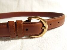 Coach brown leather belt 28 (mens) Costa Rica