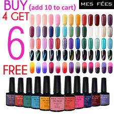 MES FEES  UV LED Nail Gel Polish Thermal Magnetic Gel Soak Off Manicure Nail Art