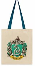 Disney Harry Potter Book Eco Canvas Shopper Bag Tote School Primark Slytherin
