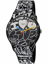 Swatch Women's Originals SUOB125 Black Silicone Swiss Quartz Fashion Watch