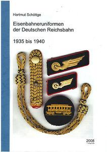 Eisenbahner Uniform Reichsbahn 1935 bis 1940