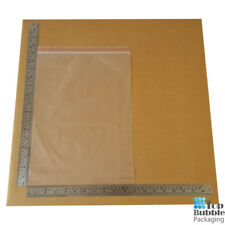 50um Resealable Bags 280x380mm - 1000pcs FREE SHIPPING Clear Plastic Reusable