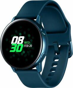 Samsung - Galaxy Watch Active Smartwatch 40mm Aluminum - Green *Brand New Sealed