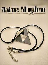 USA Seller Cosplay Legend of ZELDA Symbol Link Triangle pendant  Necklace