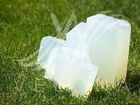 Clear Glycerin Melt  ORGANIC & Pour Soap Base 2lb,5lb,10lb,25lb  PREMIUM Velona