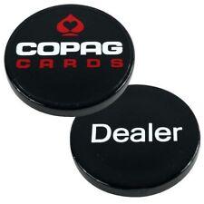 Copag Dealer Button - Black Poker Casino Lammer