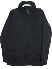 TOUGH JEANSMITH Mens Coat Jacket Black Nylon Size XL