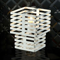 Modern White 1 Light Iron Lampshade Height 34CM Decoration Table Light/Lamp
