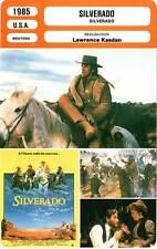 FICHE CINEMA : SILVERADO - Kline,Glenn,Costner,Glover,Cleese,Kasdan 1985