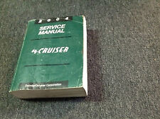 2004 CHRYSLER PT CRUISER Repair Shop Service Workshop Manual OEM Factory
