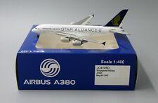 Singapore A380 Star Alliance Reg:9V-SKT JC Wing 1:400 Diecast JC4105D LAST ONE!!