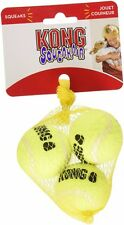Kong Squeakair Tennis Ball Small Pack of 3 Dog Fetch Toy