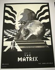 The Matrix Mondo Ltd Edition Print Poster WBYK We Buy Your Kids AP Artist Proof
