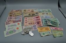 Chinese Yuan Bank Notes Foreign Exchange Certificate Coin Lot Currency Vtg