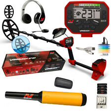 """Minelab Vanquish 540 with Free Pinpointer, Headphones, 12"""" Coil with Cover +"""