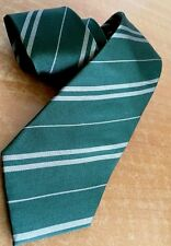 Harry Potter Tie Universal Studios Wizarding World Striped Silk Hogwarts NWT