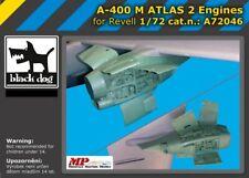 Blackdog Models 1/72 AIRBUS A-400M ATLAS 1 TWO ENGINES Resin Update Set
