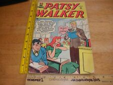 Patsy Walker 33 comic book VINTAGE 1950s G/VG- teacher romance