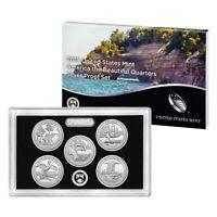 2018 United States Mint America the Beautiful Quarters Silver Proof Set (18AQ)