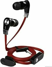 In-Ear Kopfhörer Ohrstöpsel mit Mikrofon Headset Töne Huawei Samsung Klang Bass