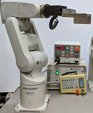 6 Axis Mitsubishi RV-1A Robot System, Clean, Working, w/Teach Pendant, see video