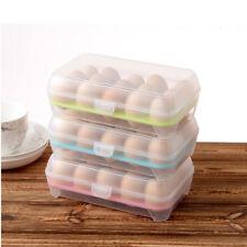 BIUE Egg Holder Plastic Refrigerator Kitchen Storage Foldable Container Home Box
