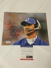 Tony Dungy Signed 8x10 Photo (Indianapolis Colts) PSA DNA COA