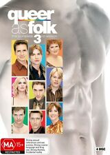 Queer as Folk Season 3 R4 DVD TV Series
