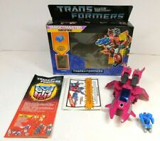TRANSFORMERS G1 TARGETMASTER MISFIRE COMPLETE W/BOX, PAPERWORK 1987 HASBRO