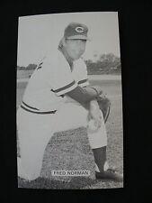 J.D. McCarthy Fred Norman postcard baseball