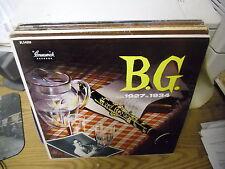 B.G. Benny Goodman From 1927 to 1934 vinyl LP VG Brunswick Records
