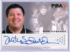 PBA Bowling;  Mike Edwards Autograph Card