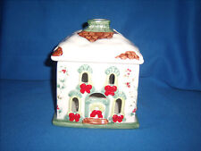 Pfaltzgraff Winterberry Holiday Village Candle Holder