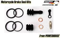 Kawasaki ZR7 ZR-7 F1 F2 F3 rear brake caliper seal repair kit 1999 2000 2001