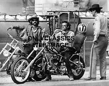 1969 HARLEY DAVIDSON MOTORCYCLE CHOPPER POLICE PETER FONDA & DENNIS HOPPER PHOTO