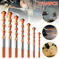 4/5/7/10x Multifunctional Drill Bit Ceramic Glass Punching Hole Working Tool Set