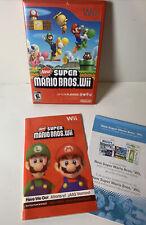 New Super Mario Bros (Wii, 2009) Complete