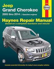 Jeep Grand Cherokee Repair Manual Haynes Manual Workshop Manual 2005-2014 50026
