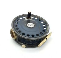 "Hardy ""St George"" 3 3/4"" alloy fly fishing reel - right hand wind - Agate guide"