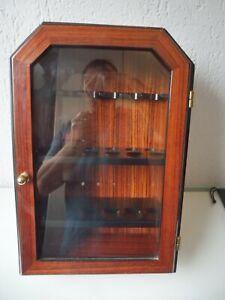 Classy Pipes Cabinet, Mahogany, Top, 41cm x 18cm x 28cm