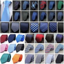 Homme Cravate classique Neuf Soie Necktie Design mode Slim Mariage Skinny Tie MA