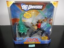 MINT SEALED!! DC UNIVERSE YOUNG JUSTICE AQUALAD SCULPTED DIORAMA 7 WEAPONS 57-11