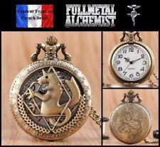 Montre gousset NEUVE ! Pocket Watch - Fullmetal Alchemist Edward Elric ( Ref 2 )