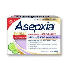 ASEPXIA Farma HUMECTANTE Limpieza Profunda {100g x 2 bars of acne fighting soap}